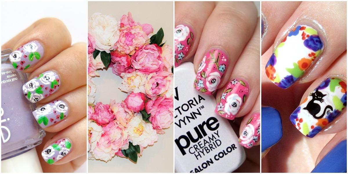 pomysły i inspiracje na zdobienia paznokci w kwiaty
