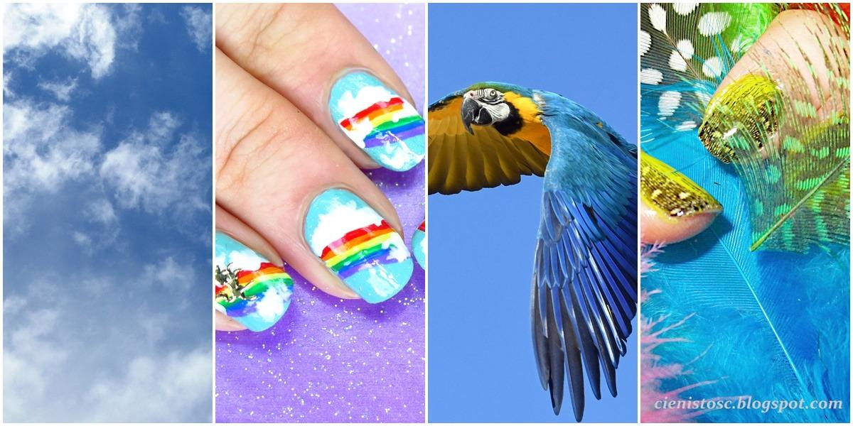 niebieskie inspiracje i pomysły na zdobienia paznokci