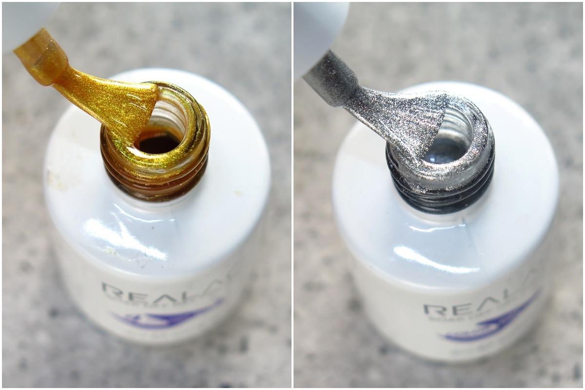 metaliczny lakier hybrydowy
