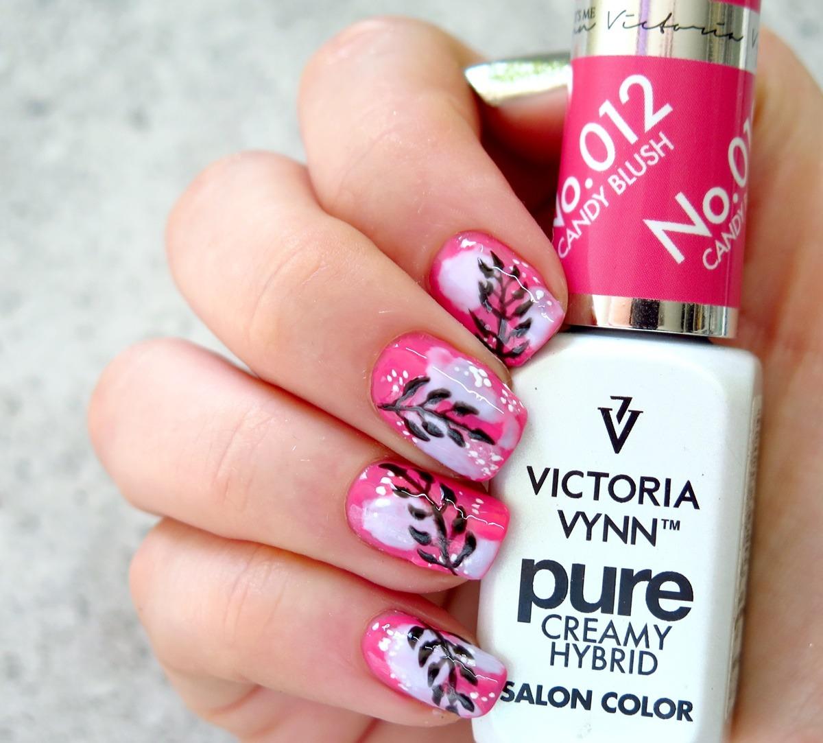 victoria vynn pure 012 candy blush stylizacja paznokci