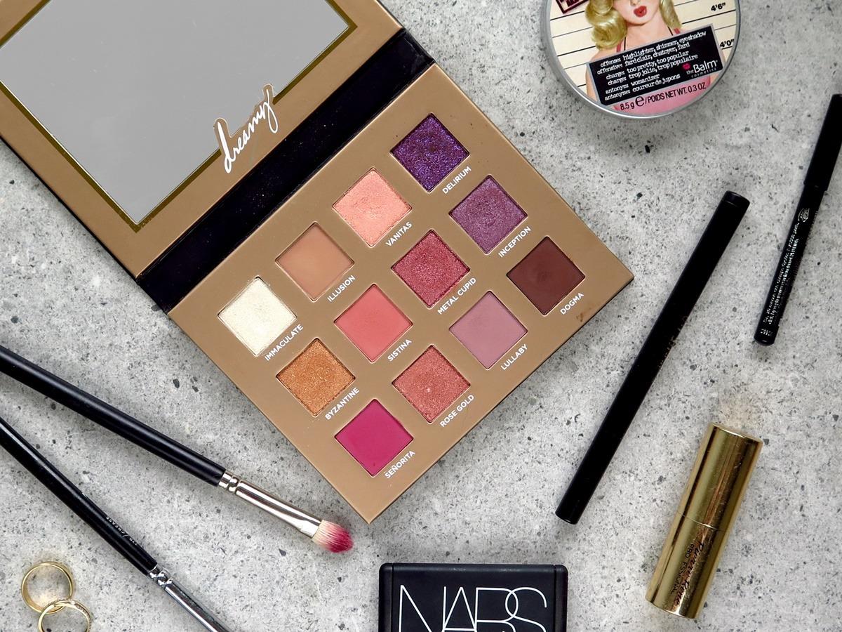 Kosmetyki do makijażu paleta cieni nabla dreamy
