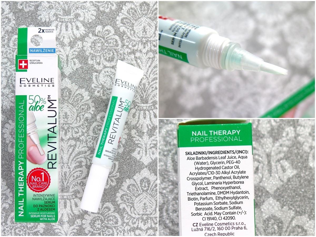 żel nawilżający eveline aloe revilalum nail therapy skład inci