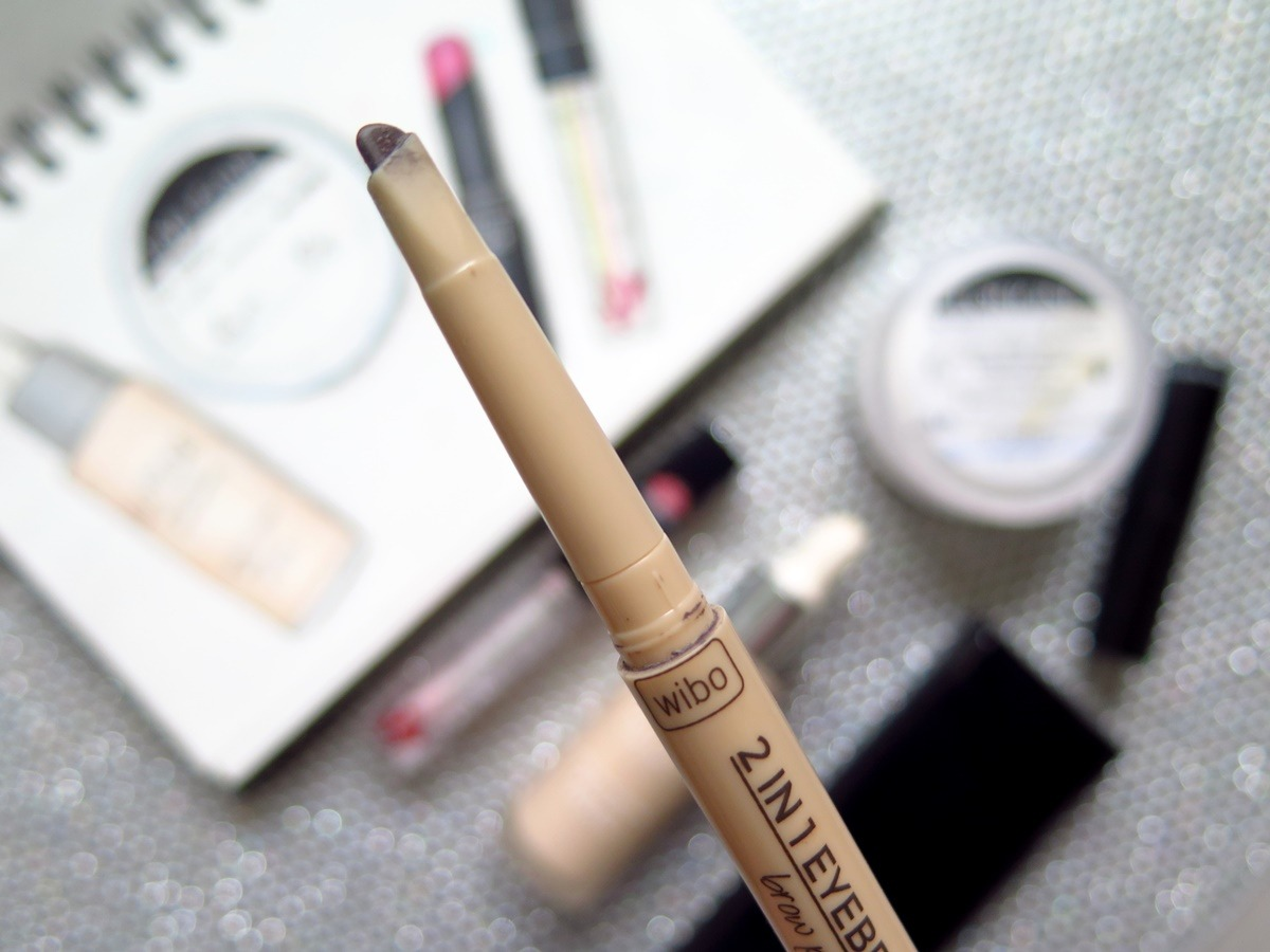 kredka do brwi WIbo 2w1 eyebrow pencil