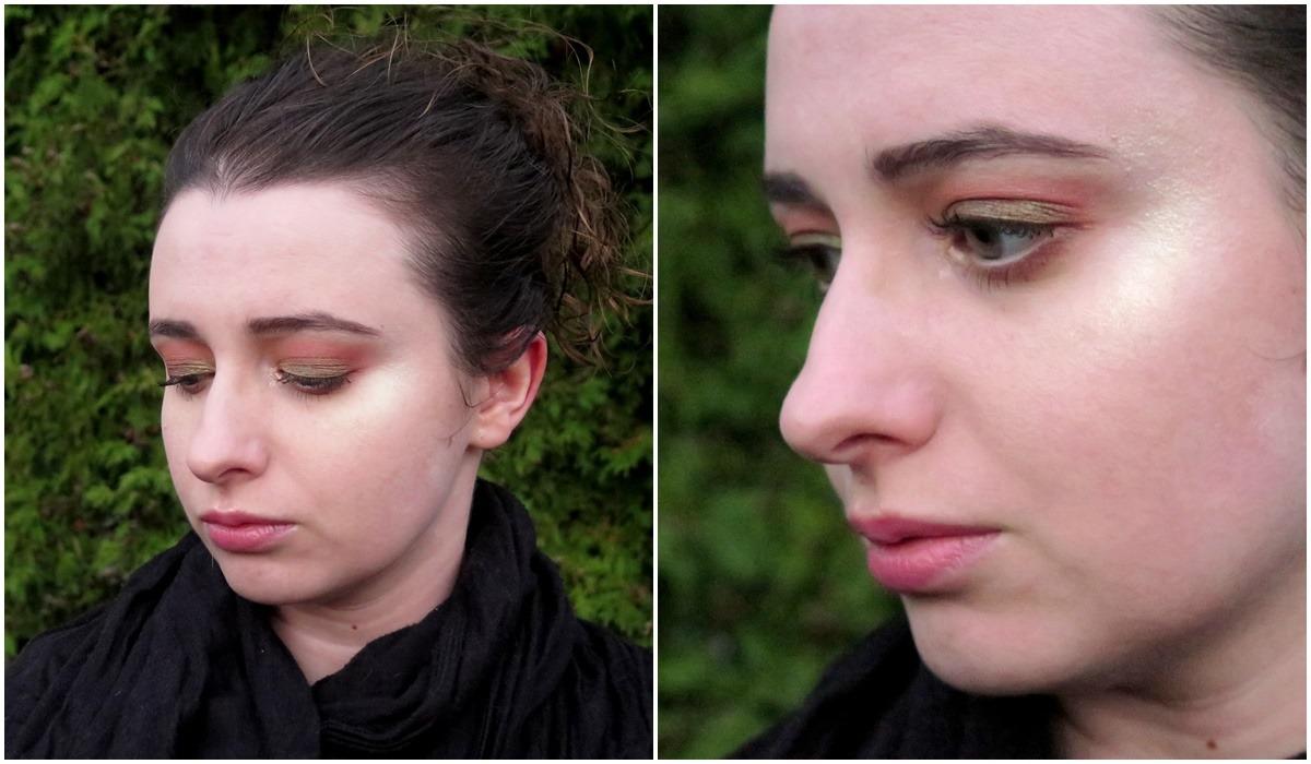makijaż na jesień zielony ciepłe brązy