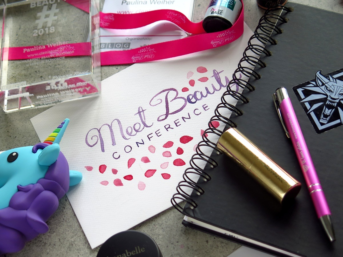 Art journal i notatki z konferencji blogerek urodowych Meet Beauty