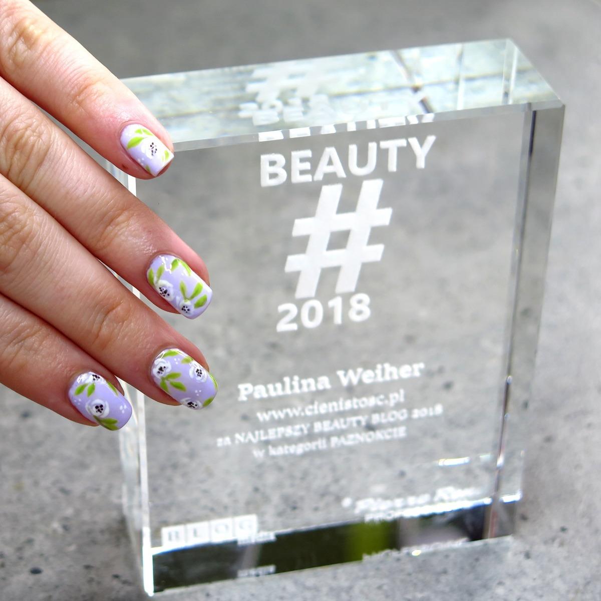 najlepsze zdobienia paznokci i blog lakierowy w polsce nagroda wyróznienie
