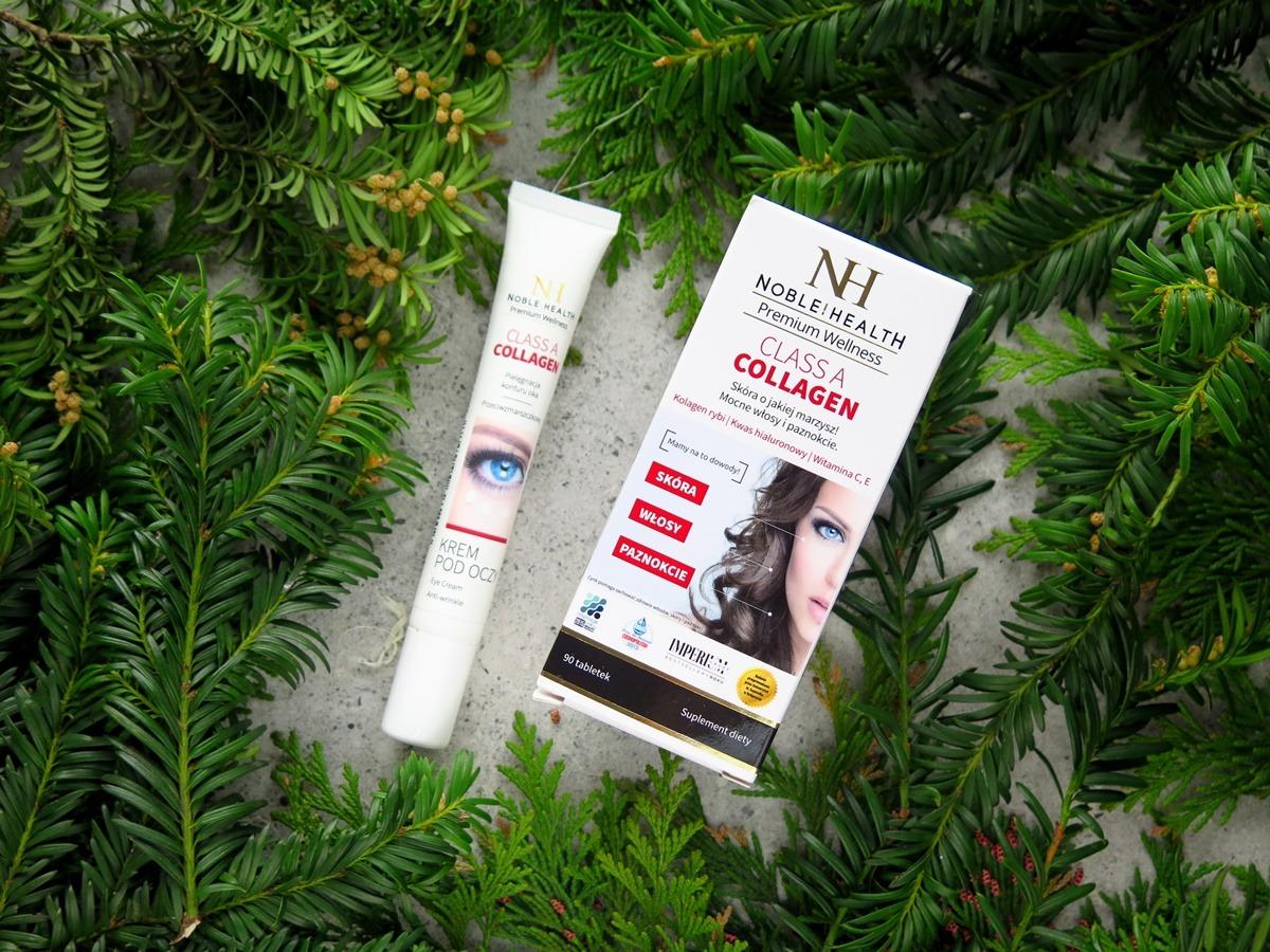 Noble health collagen kolagen suplement diety krem pod oczy z kolagenem