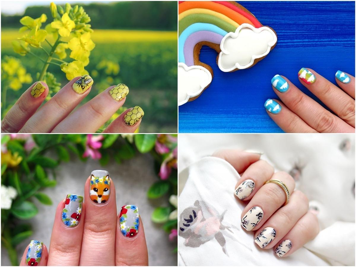 zdobienia paznokci kreatywne pomysły