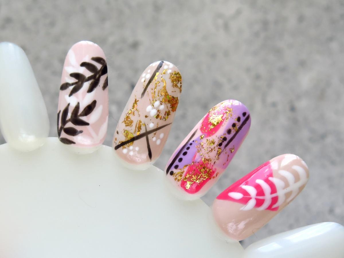 zdobienia paznokci na wakacje wzory wzornik pomysły inspiracje