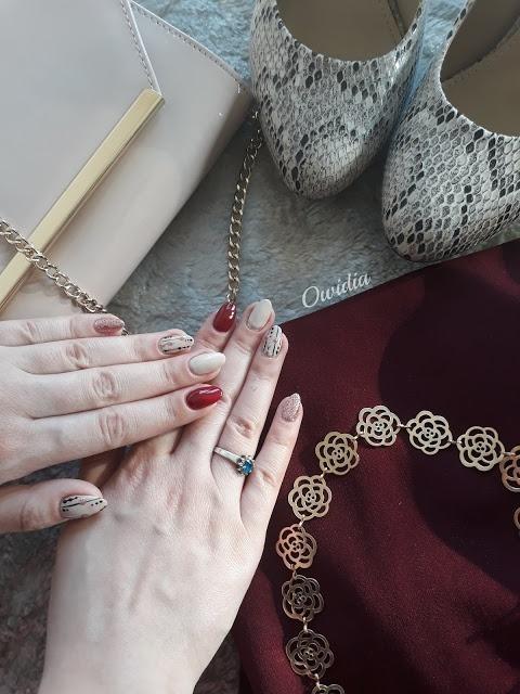 zdobienie paznokci na wesele komunię torebka sukienka buty bizuteria wesele stylizacja