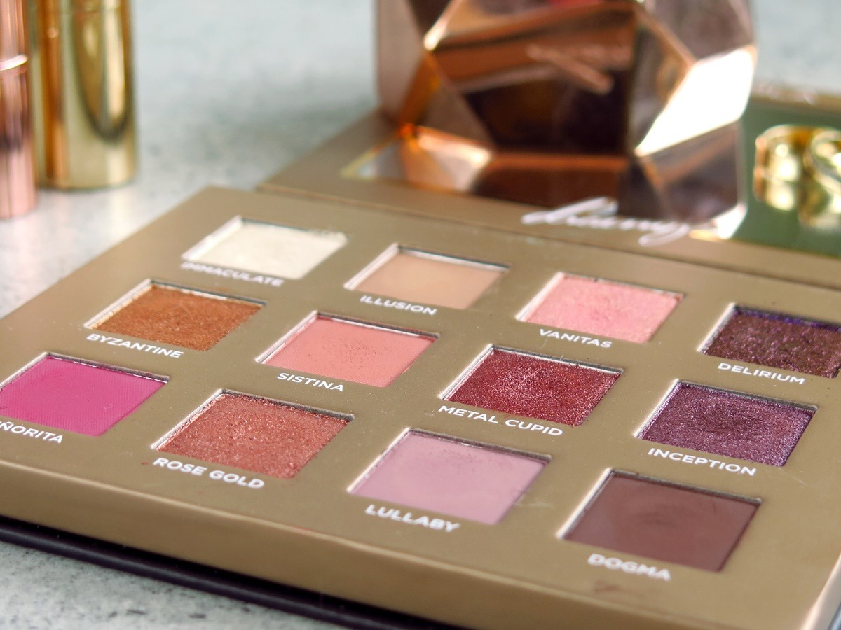 paleta cieni nabla dreamy rose gold