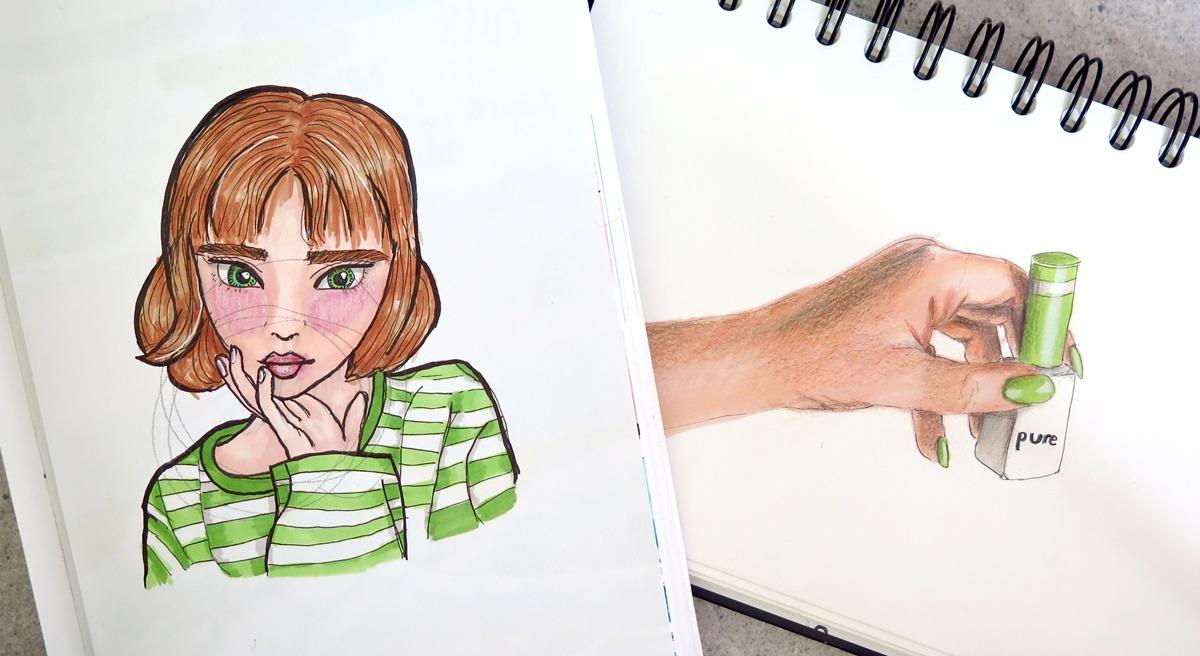 szkicownik rysunek
