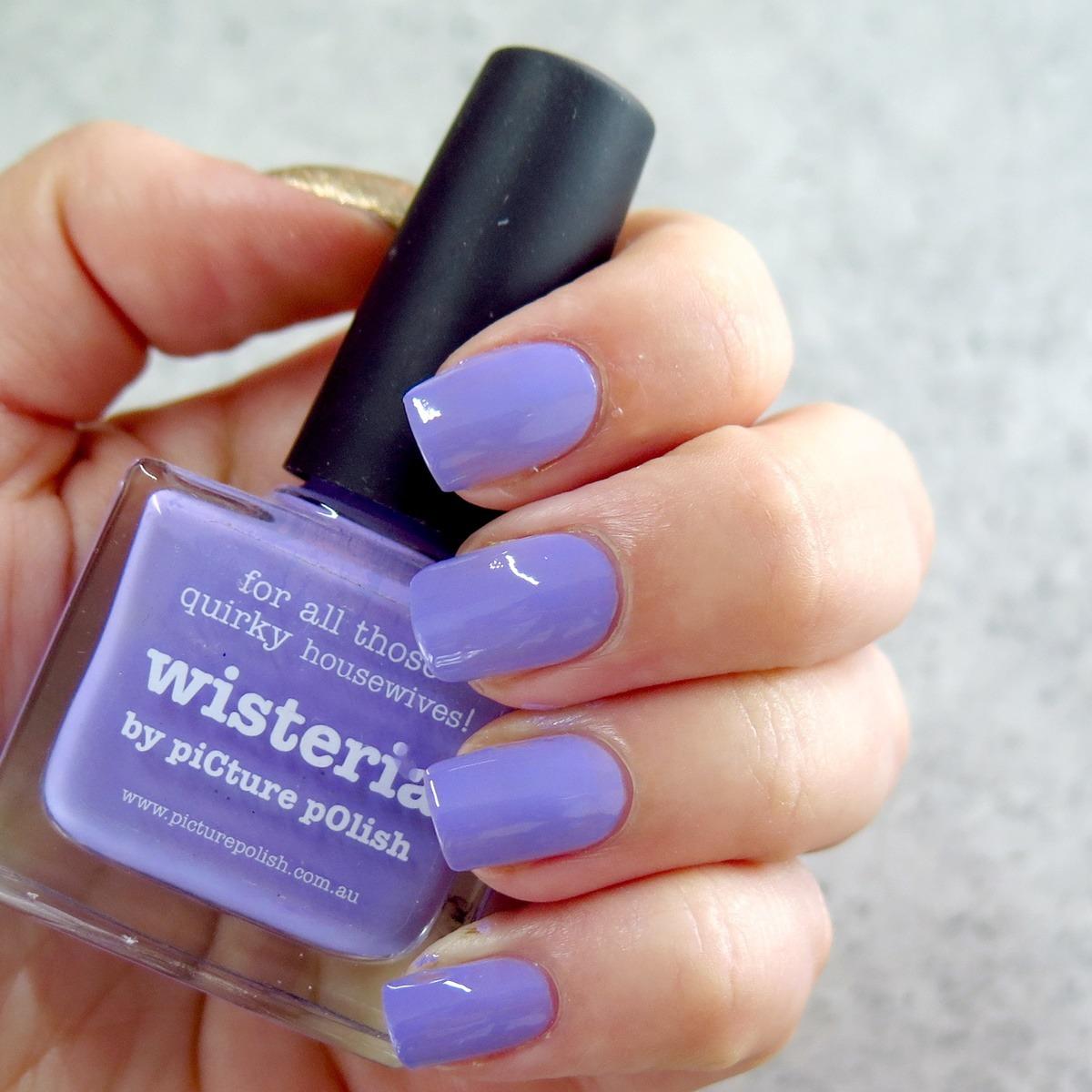 lakier do paznokci fioletowy picture polish wisteria
