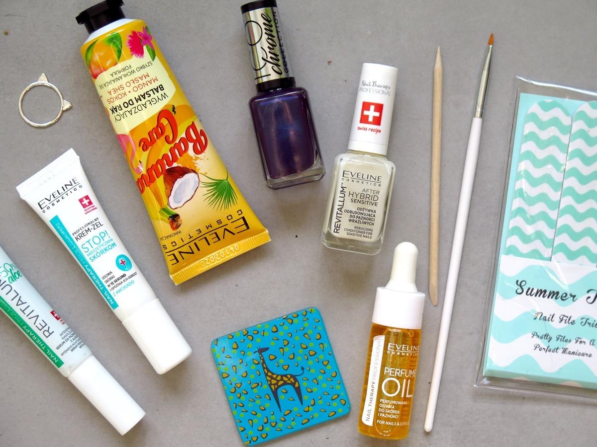 kosmetyki do pielęgnacji paznokci akcesoria co wybrać pilniczek do skórek krem żel serum pielęgnacja paznokci