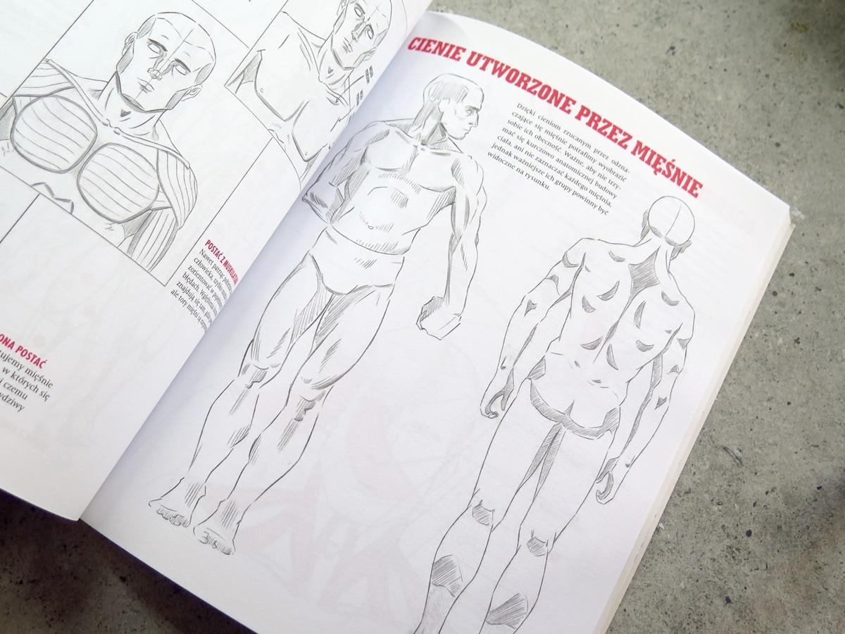 kurs rysowania postaci książka nauka anatomii człowieka rysowanie