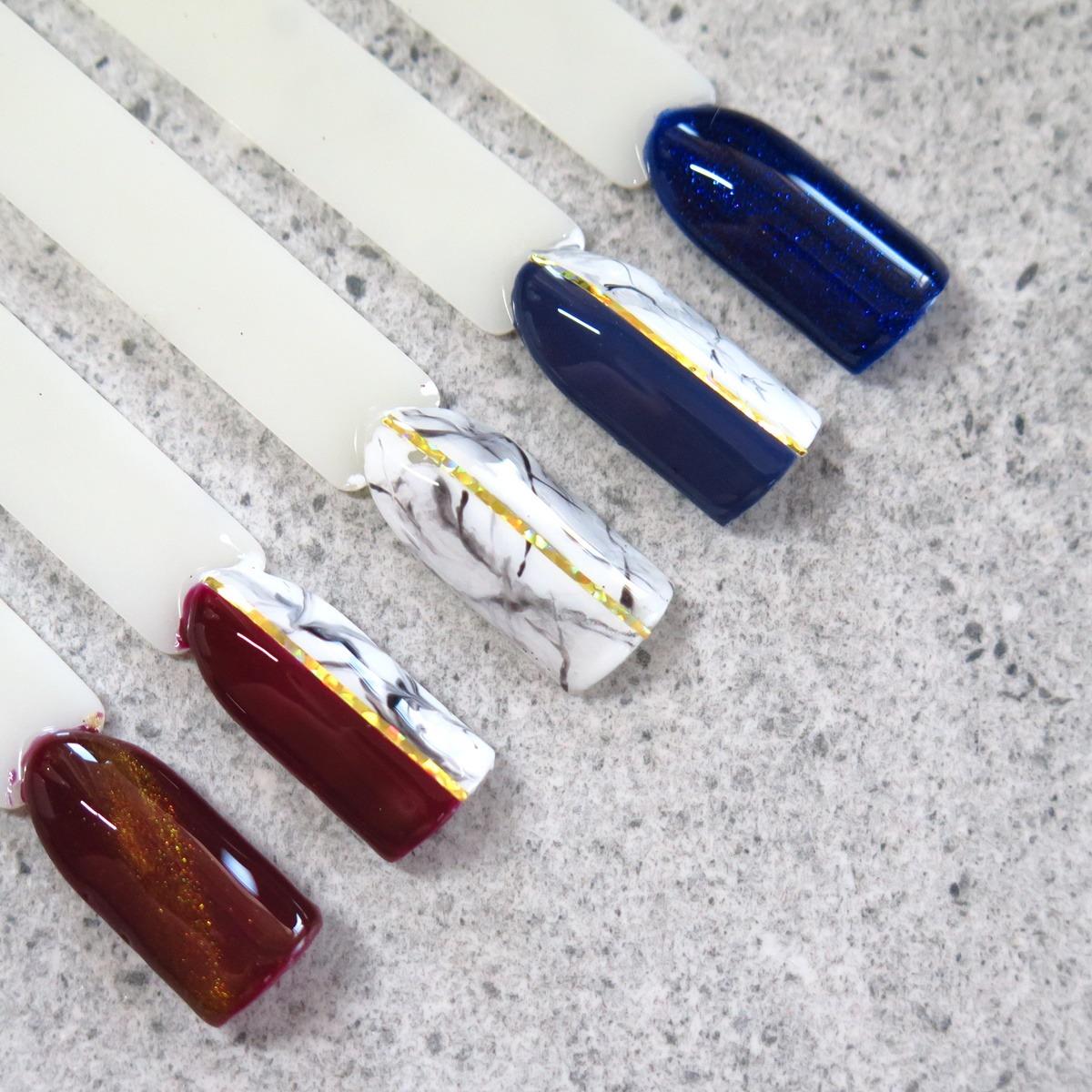 zdobienie paznokci wzornik marmurek