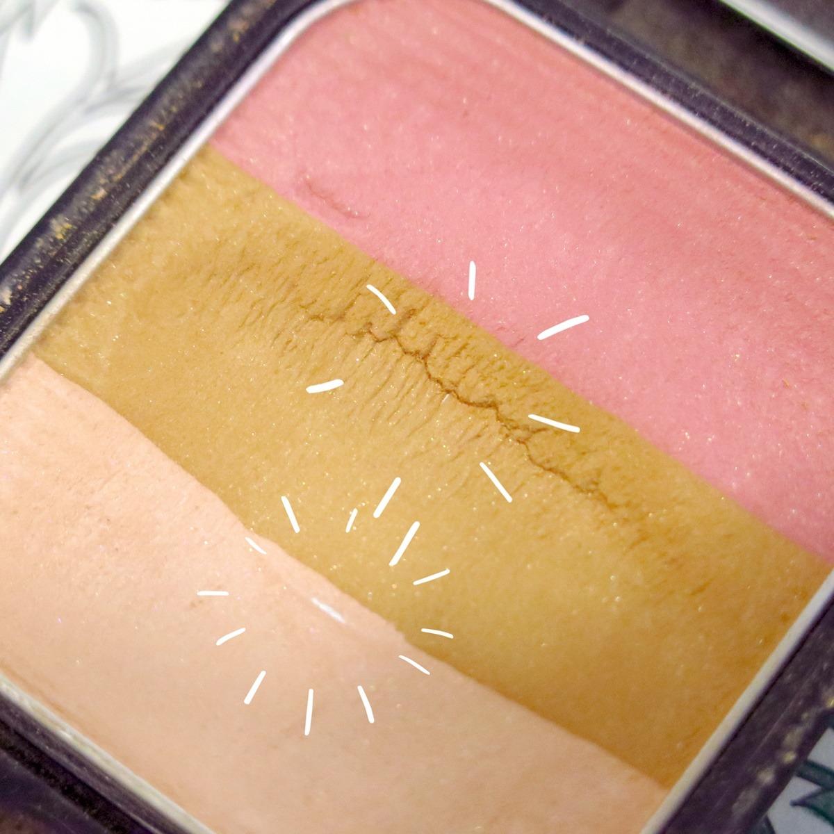 shiseido paletka do konturowania - postępy w zużywaniu project pan